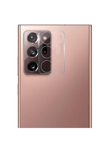 Microsonic Samsung Galaxy Note 20 Ultra Kamera Lens Koruma Camı Renksiz